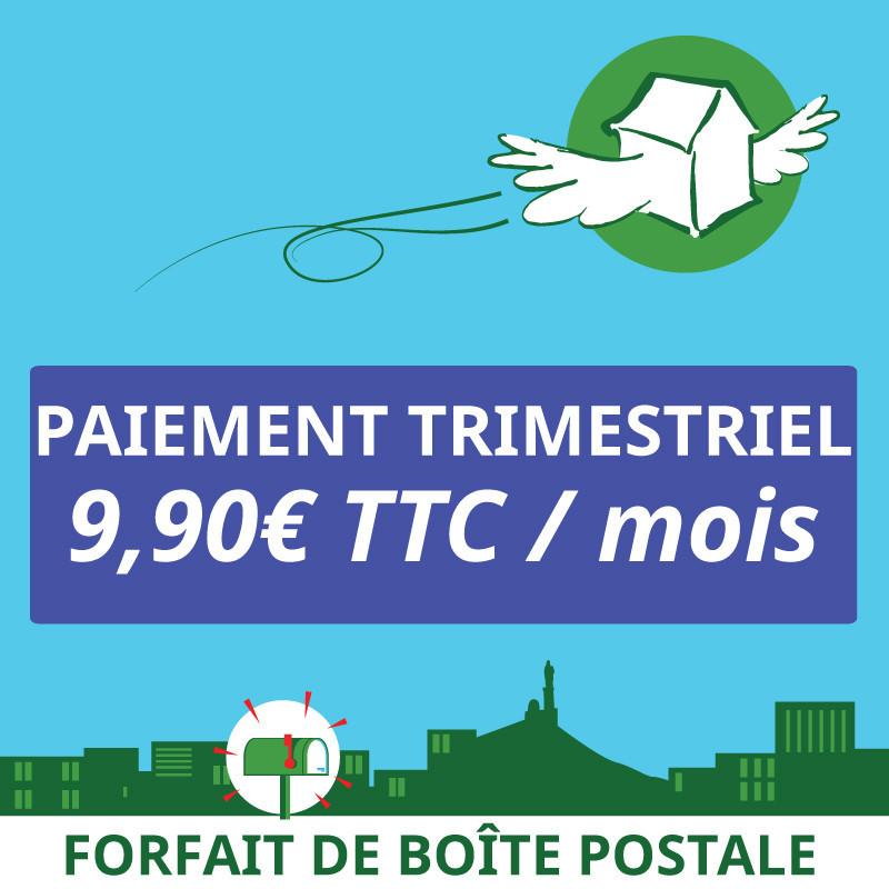 3 mois de boîte postale Marseille 1er - Ouvrir une Boîte postale en France