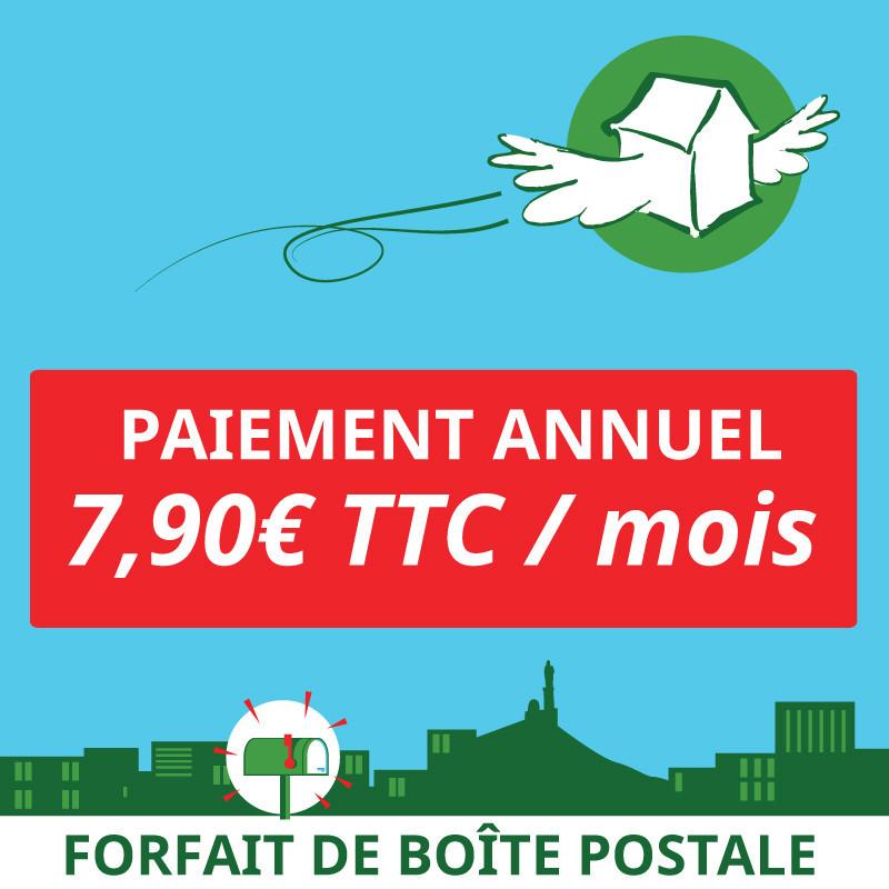 1 an de boîte postale à Marseille 1er - Ouvrir une Boîte postale en France
