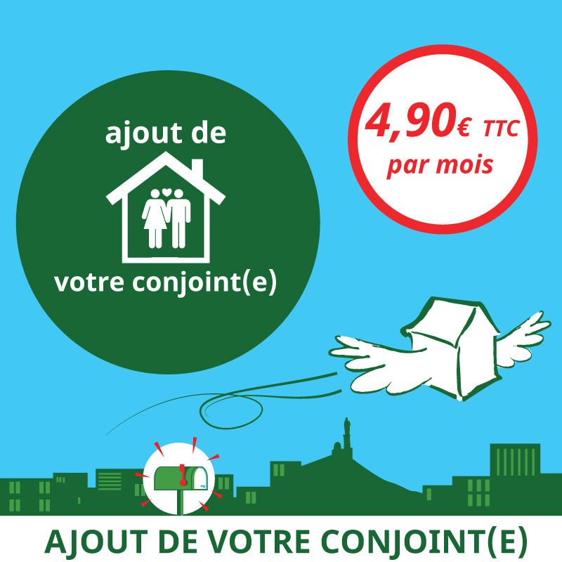 Ajout d'un titulaire à votre boîte postale - Ouvrir une Boîte postale en France