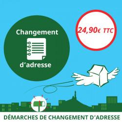 Changement d'adresse en ligne - Ouvrir une Boîte postale en France
